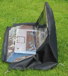 Laptop rain cover