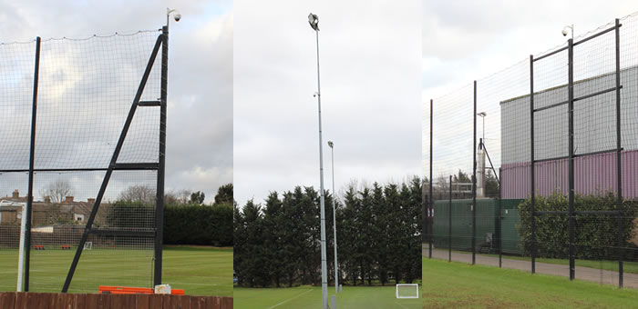 Sports Cam Fixed Sport AV Telescopic masts Hi Cam Portable Telescopic Filming Systems