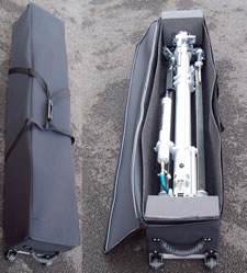 Wheel-able SportsMast Carry Case